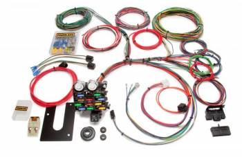 Painless Performance Products - Painless Performance Classic Customizable Pickup Chassis Harness - GM Keyed Column - 21 Circuits