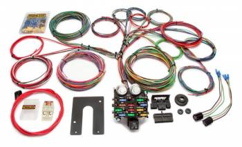 Painless Performance Products - Painless Performance Classic Customizable Pickup Chassis Harness - Non GM Keyed Column - 21 Circuits