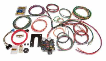 Painless Performance Products - Painless Performance Classic Customizable Jeep CJ Harness - 1975 and earlier - 22 Circuits