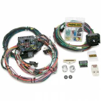 Painless Performance Products - Painless Performance Direct Fit Jeep YJ Harness (1987-1991) - 23 Circuits