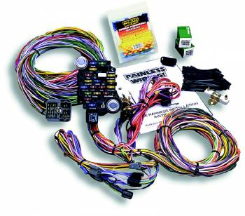 Painless Performance Products - Painless Performance Classic-Plus Customizable GM Pickup Truck Chassis Harness (1967-1972) - 28 Circuits
