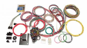 Painless Performance Products - Painless Performance Customizable Classic-Plus Tri-Five Chevy Chassis Harness - 28 Circuits