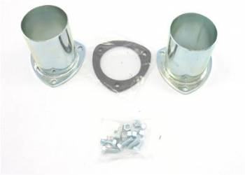 """Patriot Exhaust - Patriot Collector Reducers - (Set of 2) - 3-1/2"""" to 3-1/2"""""""