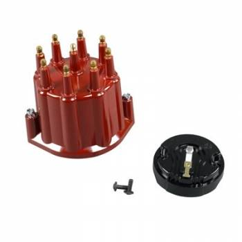 PerTronix Performance Products - PerTronix Distributor Cap & Rotor Kit - Red w/ Male Tower
