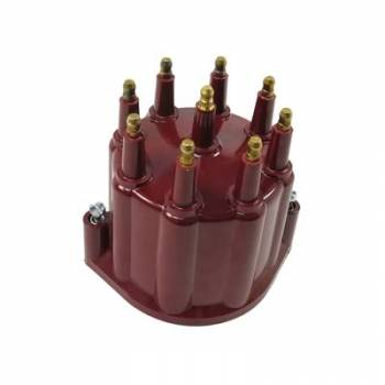 PerTronix Performance Products - PerTronix Distributor Cap - Red w/ Male Tower