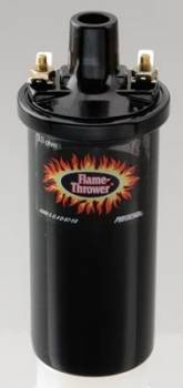PerTronix Performance Products - PerTronix Flame-Thrower Coil - Black- Oil Filled 3 Ohm