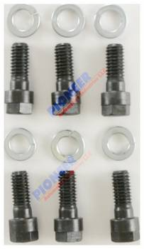 Pioneer Automotive Products - Pioneer Pressure Plate Bolt Kit - Chevy V8 (6) 3/8 x 1