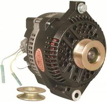Powermaster Motorsports - Powermaster 200 Amp Alternator Ford w/ Serpentine Pulley