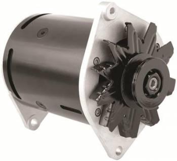 Powermaster Motorsports - Powermaster Power Generator Ford 75 Amps Swing Mount Black