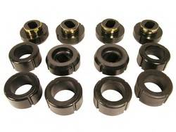 Prothane Motion Control - Prothane Body and Cab Mount Bushing Kit - Black