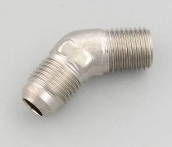 Russell Performance Products - Russell Endura Adapter Fitting #6 to 1/4 NPT 45