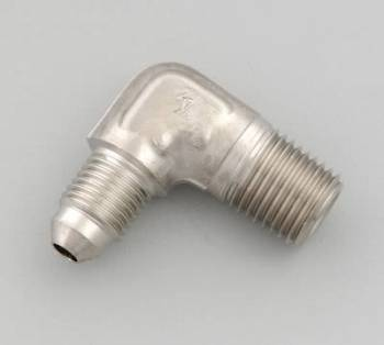 Russell Performance Products - Russell Endura Adapter Fitting #4 to 1/4 NPT 90
