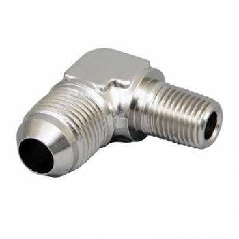 Russell Performance Products - Russell Endura Adapter Fitting #8 to 1/4 NPT 90