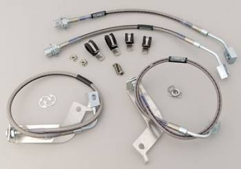 Russell Performance Products - Russell Street Legal Stainless Steel Brake Line Kit 99-03 Cobra