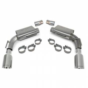 SLP Performance - SLP Performance Axle Back Exhaust Kit Power Flo 2010 Camaro V8
