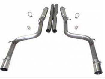 SLP Performance - SLP Performance Exhaust System Loud Mouth II 05-08 SRT8 Charger/Magnum