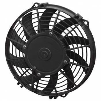 "SPAL Advanced Technologies - SPAL 9"" Curved Blade Low Profile Puller Fan - 708 CFM"