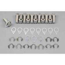 "Stage 8 Locking Fasteners - Stage 8 Header Bolt Kit - 12pt. 3/8-16 x 1"" (12)"