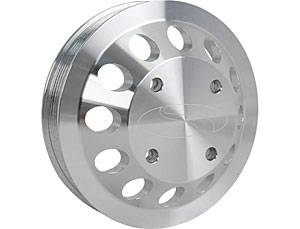 Steeda - Steeda Billet Water Pump Pulley 11-12 Mustang GT