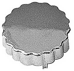 Trans-Dapt Performance - Trans-Dapt Power Steering Cap Cover - Saginaw - Chrome Plated Plastic
