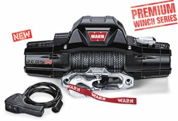 Warn - Warn Zeon 8-S 8000lb Winch w/Synthenic Rope