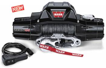Warn - Warn Zeon 10-S 10000lb Winch w/Synthetic Rope