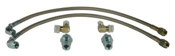 Wilwood Engineering - Wilwood Flexline Kit - 64-72 GM Front w/ 90 Degree Hose End