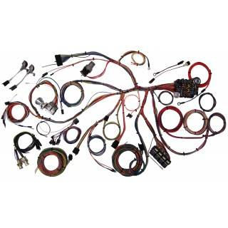 American Autowire - American Autowire 67-68 Mustang Wiring Harness