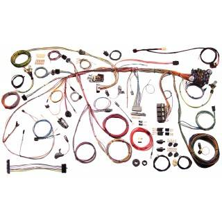 American Autowire - American Autowire 70 Mustang Wiring Harness