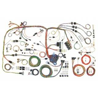 American Autowire - American Autowire 70-74 Challenger Wiring Harness