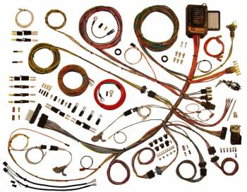 American Autowire - American Autowire 53-56 Ford Pickup Wiring Harness