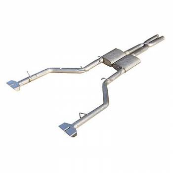 Pypes Performance Exhaust - Pypes Performance Exhaust 2008- Challenger 3.5L 2.5i Cat Back Exhaust w/ XPipe