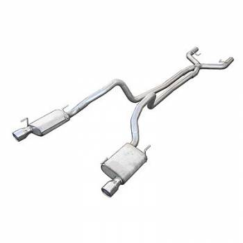 "Pypes Performance Exhaust - Pypes Performance Exhaust 2005-10 Mustang 4.0L 2.5"" Cat Back Exhaust System"