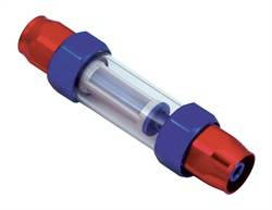 Spectre Performance - Spectre Pro-Plumbing Fuel Filter - Red/Blue Magna-Clamp Hose End Fittings For 3/8 in. Fuel Line