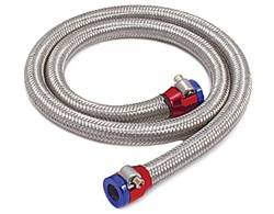 Spectre Performance - Spectre SSteel-Flex Fuel Line Kit - Includes Fuel Line w / 2 Red and Blue Magna-Clamps