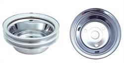 Spectre Performance - Spectre Crankshaft Pulley - Chrome Plated Steel