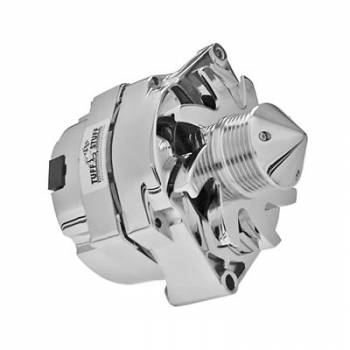 Tuff Stuff Performance - Tuff Stuff GM Alternator 140 Amp Chrome 6 Groove