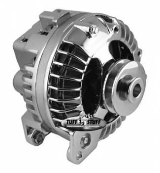 Tuff Stuff Performance - Tuff Stuff Chrysler Alternator 61-85 100 Amp Chrome