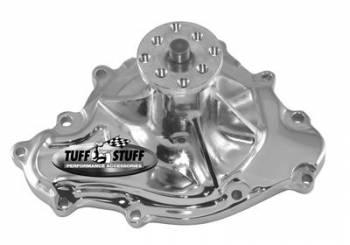 Tuff Stuff Performance - Tuff Stuff Pontiac Water Pump 11 Bolts Chrome