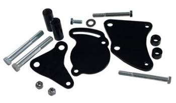 Tuff Stuff Performance - Tuff Stuff BB Chevy Power Steering Bracket Short Water Pump Black