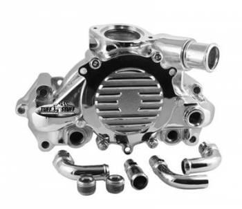 Tuff Stuff Performance - Tuff Stuff GM LT1 Water Pump Polished Aluminum