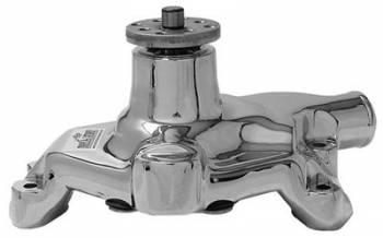 "Tuff Stuff Performance - Tuff Stuff SB Chevy Aluminum Short Water Pump Polished 5/8"""
