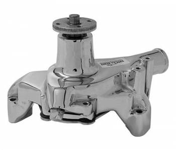 Tuff Stuff Performance - Tuff Stuff SB Chevy Long Water Pump Chrome
