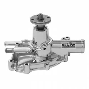 Tuff Stuff Performance - Tuff Stuff 5.0 Ford Chrome Water Pump Reverse Rotation