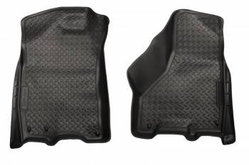 Husky Liners - Husky Liners Classic Style Floor Liners - Front - Black