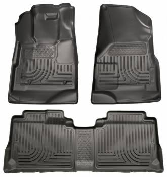 Husky Liners - Husky WeatherBeater Floor Liners - 2nd Seat - Black