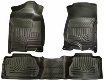 Husky Liners - Husky WeatherBeater Floor Liners - Front & 2nd Seat - Black