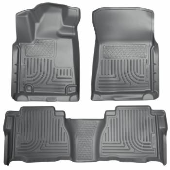 Husky Liners - Husky WeatherBeater Floor Liners - Front & 2nd Seat - Grey