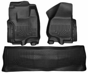 Husky Liners - Husky Liners Front & 2nd Seat Floor Liners - Black