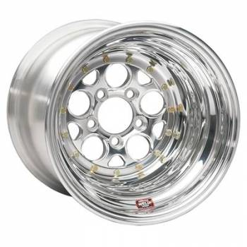 "Weld Racing - Weld Magnum Drag 2.0 Polished Wheel - 15"" x 14"" - 5 x 4.75"" Bolt Circle 4"" Back Spacing"